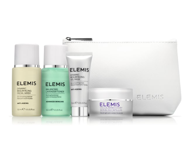 "<span>Starter kit resurfacing collection, Elemis.</span><span><span class=""wasp-icon""></span><span class=""wasp-icon""></span><span class=""wasp-icon""></span><span class=""wasp-icon""></span><br></span>"