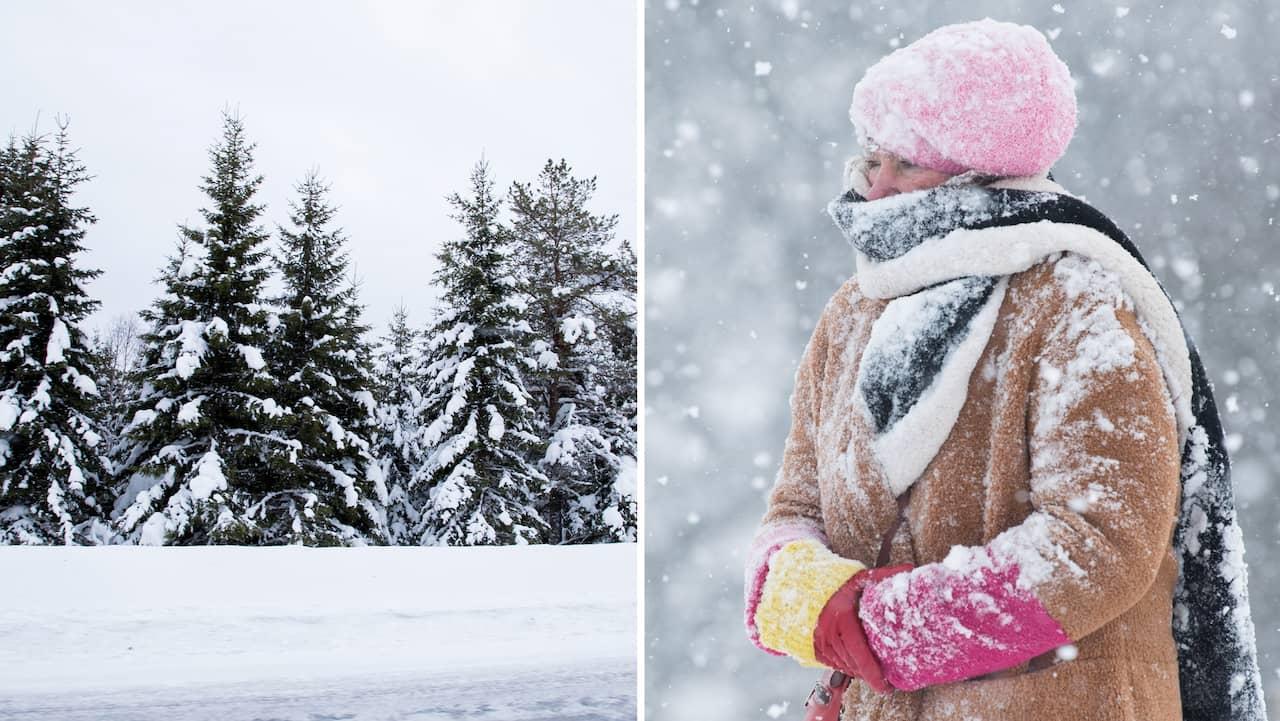 Så blir vintern 2018 – nu smäller köldsmockan till