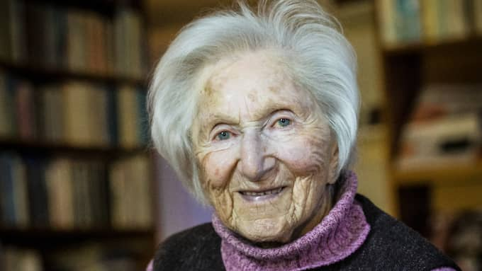 LIVSVIKTIG. Hédi Frieds gärning som vittne till Förintelsen går inte att överskatta. Foto: KARL GABOR