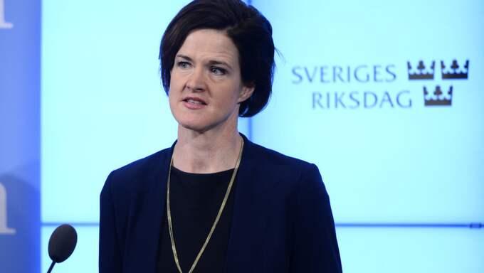 M-ledaren Anna Kinberg Batra. Foto: Henrik Montgomery/Tt / TT NYHETSBYRÅN