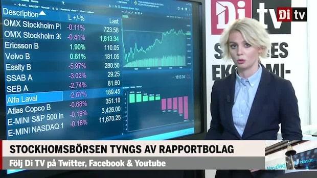 Marknaden: Stockholmsbörsen tyngs av rapportbolag