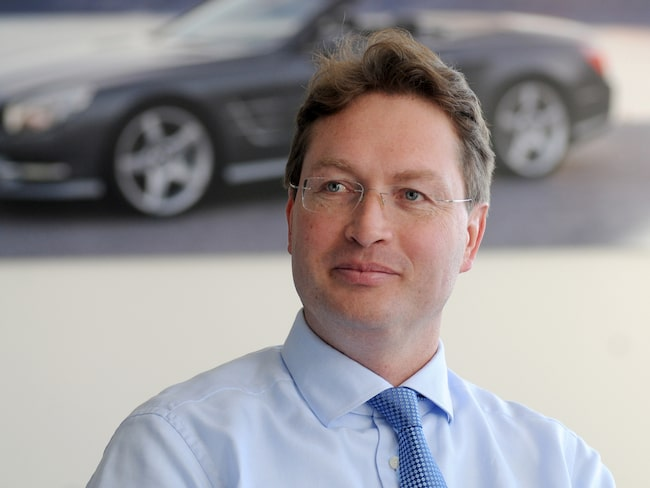 Ola Källenius har varit utvecklingschef på Mercedes sedan 2017.