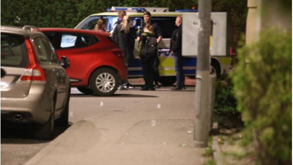 """En man ska ha skjutit flera gånger och sedan flytt: """"Försök till mord"""" Foto: Janne Åkesson/Swepix"""