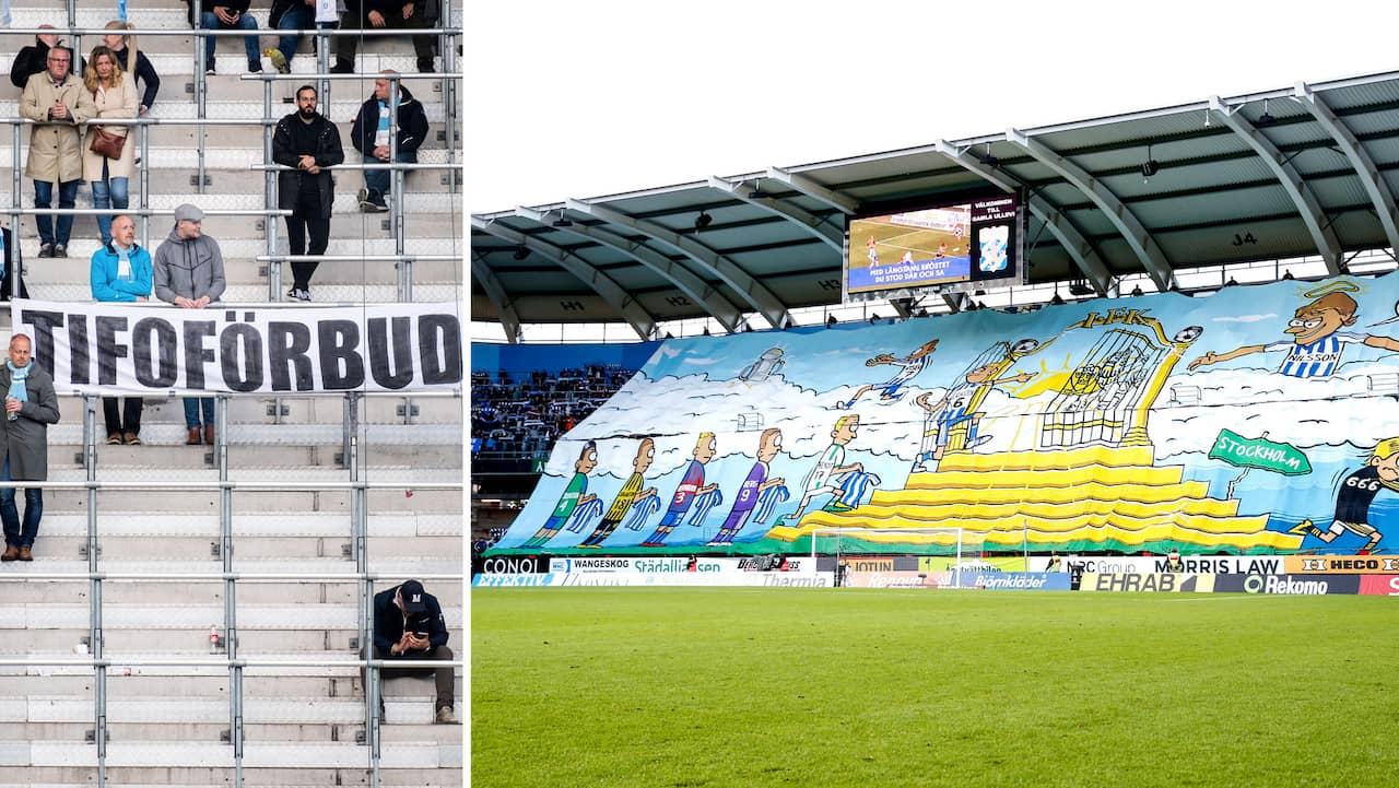 Beskedet: Förbjuder flaggorna i stormötet Blåvitt-MFF
