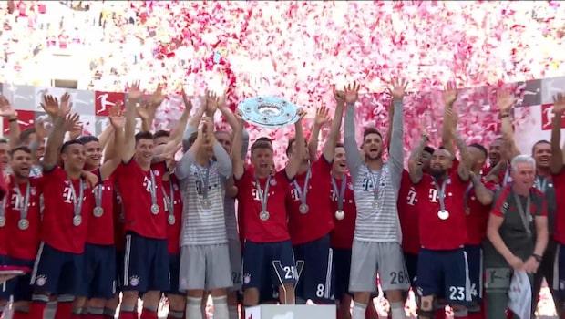 Höjdpunkter: Bayern München-Stuttgart