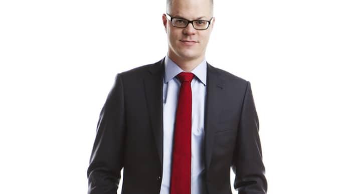 Jakob Eliasson är samhällspolitisk chef på Villaägarna. Foto: Jeanette Hägglund