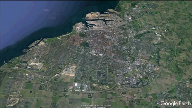 Våldtäktsman i Malmö dömd till mer än två års fängelse
