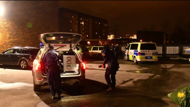 En person skadad vid granatexplosion i Malmö