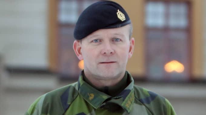 """""""Varje vecka får jag rapporter om både större och mindre spionverksamhet"""", säger Mikael Frisell, chef vid Militärregion nord. Foto: Försvarsmakten"""