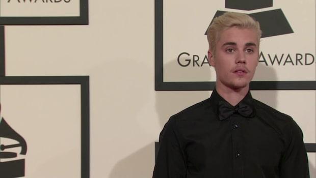 Justin Bieber portad från Kina