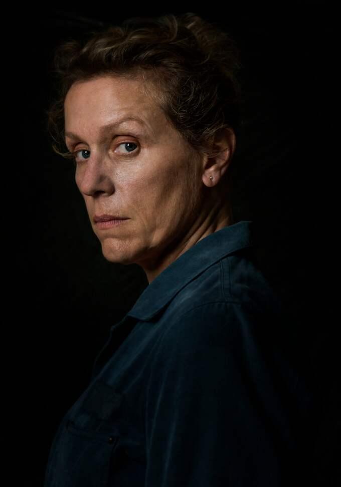 """""""Ni som inte är kvinnor i klimakteriet, ni har många år kvar innan ni kan säga """"bitch"""" som Frances McDormand, men fortsätt drömma, för all del, fortsätt drömma."""" Foto: MERRICK MORTON / LFI/AVALON.RED B4413"""