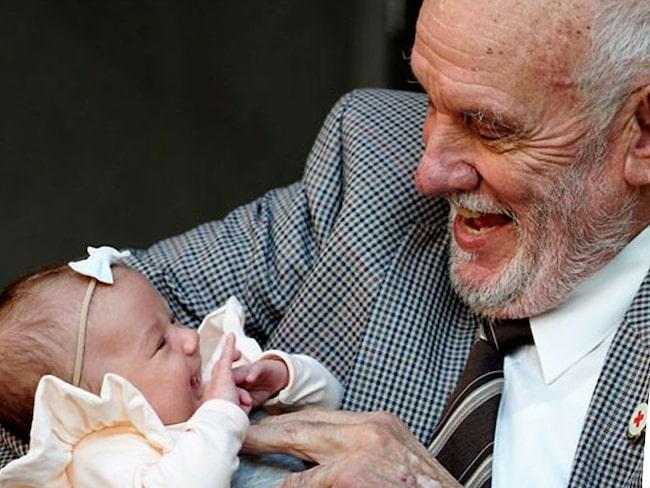 James Harrison har donerat blod i 60 år - och räddat miljontals bebisar.