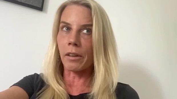"""Virussmittade Sandra, 43: """"Väldigt mycket dödsångest"""""""
