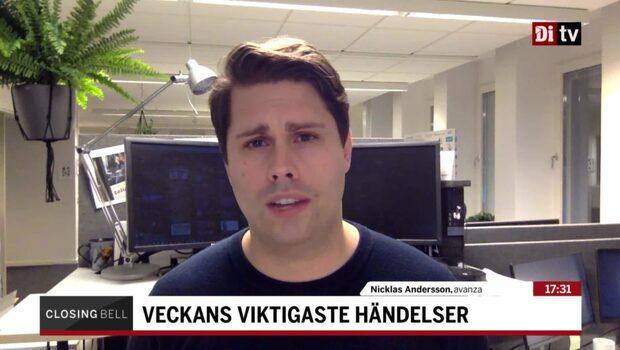 Andersson: Håll koll på detta i veckan