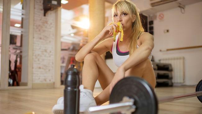 tränar man magen när man springer