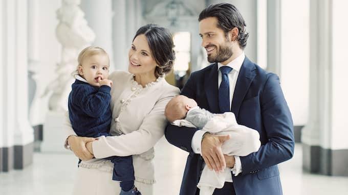 Nu är det klart att de kommer till dopet av prins Gabriel. Foto: ERIKA GERDEMARK / KUNGAHUSET.SE