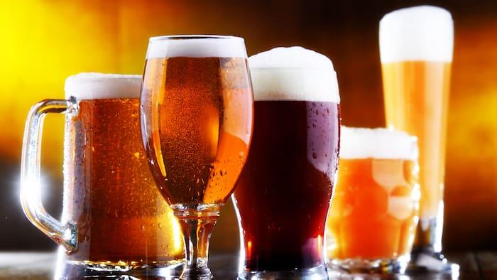 hur snabbt förbränner man en öl