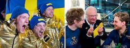 Hemliga knepet: Tog OS-banan till Sverige
