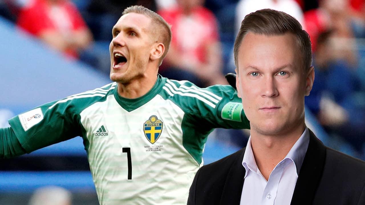 Kristoffersson ingen kvartsfinal utan robin olsen for Robin olsen squadre attuali