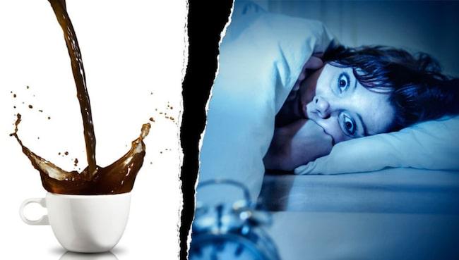 känslig mot koffein