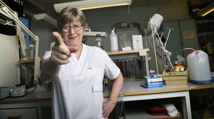 Agnes Wold uttrycker skarp kritik mot att man plockar bort mjukplasterna. Foto: Robin Aron