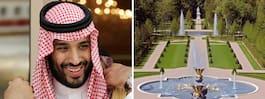 Saudis kronprins köpte palats för 2,5 miljarder