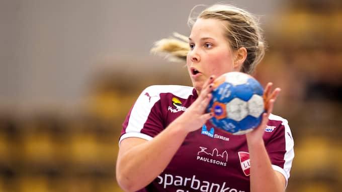 Ebba Engdahl orsakade straffen i slutsekunden. Foto: AVDO BILKANOVIC / BILDBYRÅN