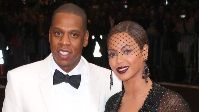 Jay Z och Beyoncé har sedan tidigare dotern Blue Ivy som är fem år gammal. Foto: ERIK PENDZICH/REX / ERIK PENDZICH/REX REX FEATURES
