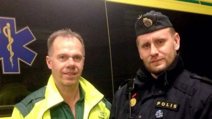 Stefan Eriksson och Victor Adolphsson. Foto: Instagram