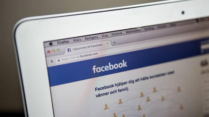 Lurar offer på Facebook. Kvinnan från Ängeholm lurades att föra över en miljon kronor till mannen hon träffat på Facebook. Foto: CHRISTINE OLSSON/TT