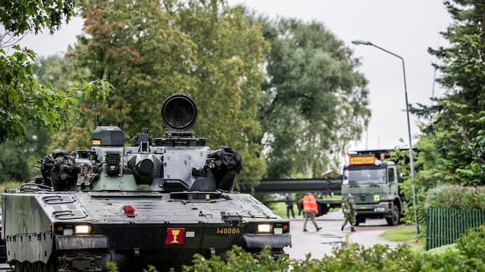 Tillbaka till Kalla kriget – så kan försvarsberedningens rapport sammanfattas. Foto: MATTIAS NURMELA / FÖRSVARSMAKTEN