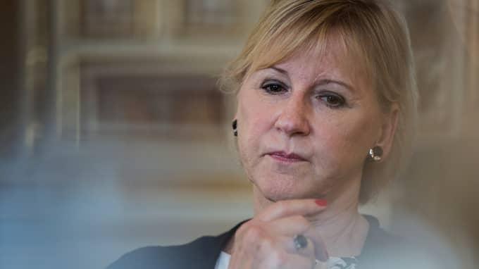 Utrikesminister Margot Wallström. Foto: LISA MATTISSON EXP / LISA MATTISSON EXP