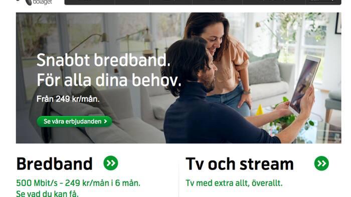 problem med bredbandsbolaget