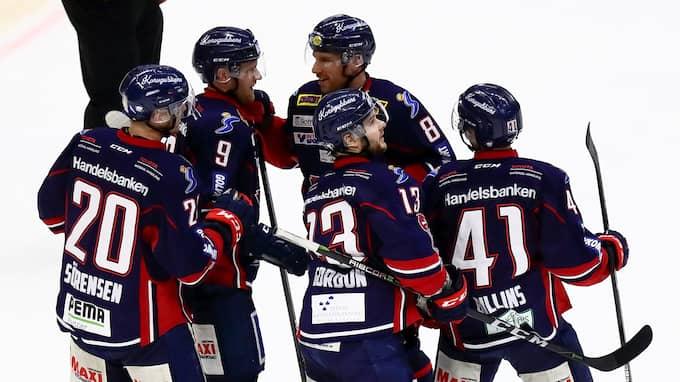 Linköping åkte ut mot Djurgården i SM-kvartsfinal. Foto: JOSEFINE LOFTENIUS / BILDBYRÅN