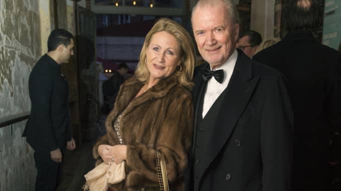 Bo och Ann Wallblom på röda mattan. Foto: Robin Aron / ROBIN ARON GT-EXPRESSEN