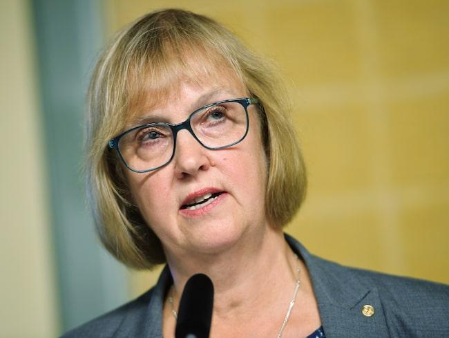 Trafikverkets generaldirektör Lena Erixon.