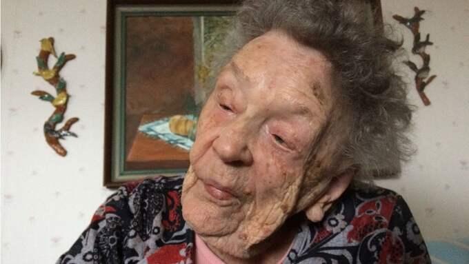Alice Östlund, 110 år ung. Foto: Peter Olsson/Sveriges Radio