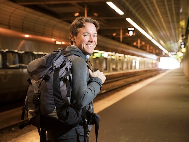 Dan Olofsson, SJ:s egen tågluffarexpert, tipsar om tre perfekta tågluffarrutter i Europa.