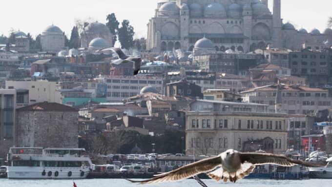 Turkiet har en allt mer pressad tillgång på dricksvatten enligt landets regering. Foto: TOLGA BOZOGLU / EPA / TT / EPA TT NYHETSBYRÅN