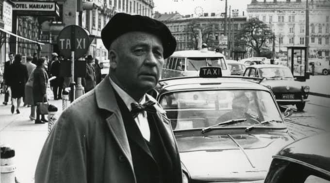 Herbert Tingsten i Wien 1965. Foto: Per Ahlmark