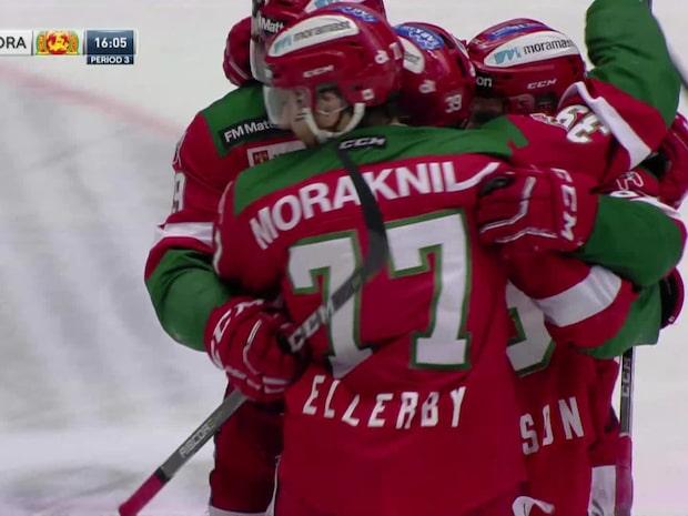 Mora vinner mot Leksand – avgör med minuter kvar