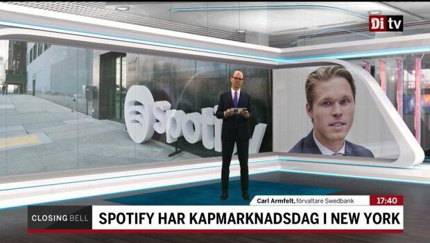 """Förvaltaren: """"Finns två läger om Spotify"""""""