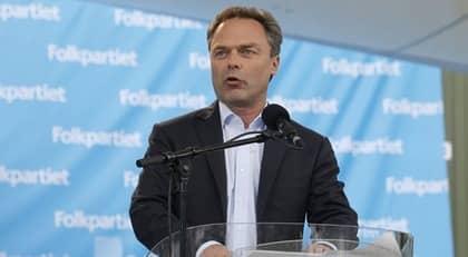 Jan Björklund höll tal i Almedalen på tisdagen. Foto: Cornelia Nordström