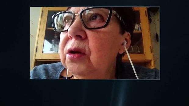 Kristina, 70, fick sin mejl kapad