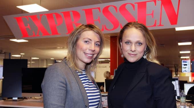 Karolina Skoglund och Sara Thunmarker Telde. Foto: Cornelia Nordström