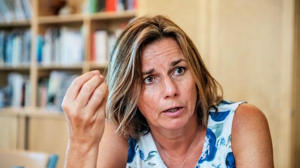 """Lövin om Lööfs besked: """"Det är mycket tråkigt"""""""