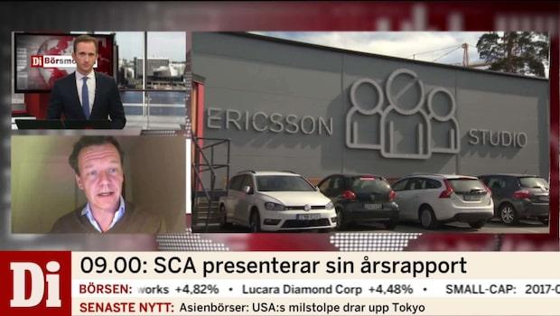 Ericsson går sämre än väntat