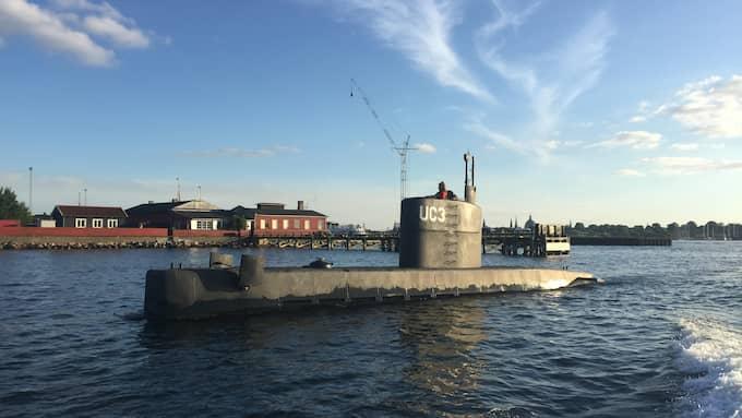 Kim Wall och Peter Madsen sågs i ubåten under torsdagskvällen. Foto: ANDERS VALDSTED / NTB SCANPIX TT NYHETSBYRÅN