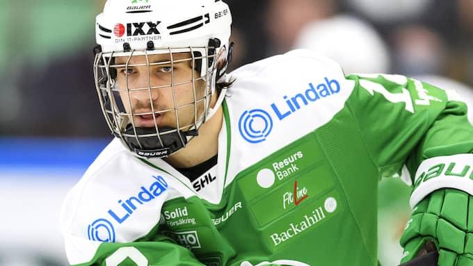 Timothy Liljegren ser ut att stanna i Nordamerika den kommande säsongen. Foto: ANDERS BJURÖ / BILDBYRÅN