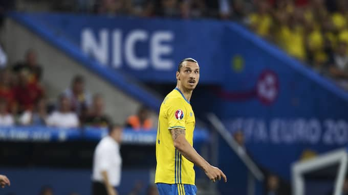 Zlatan Ibrahimovic. Foto: NILS PETTER NILSSON